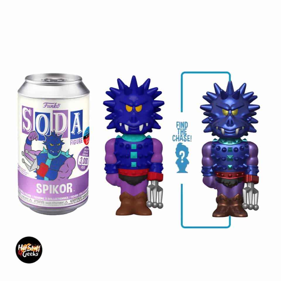 Funko Vinyl Soda: Masters of the Universe - Spikor With Glitter Chase Variant - NYCC 2020 Exclusive
