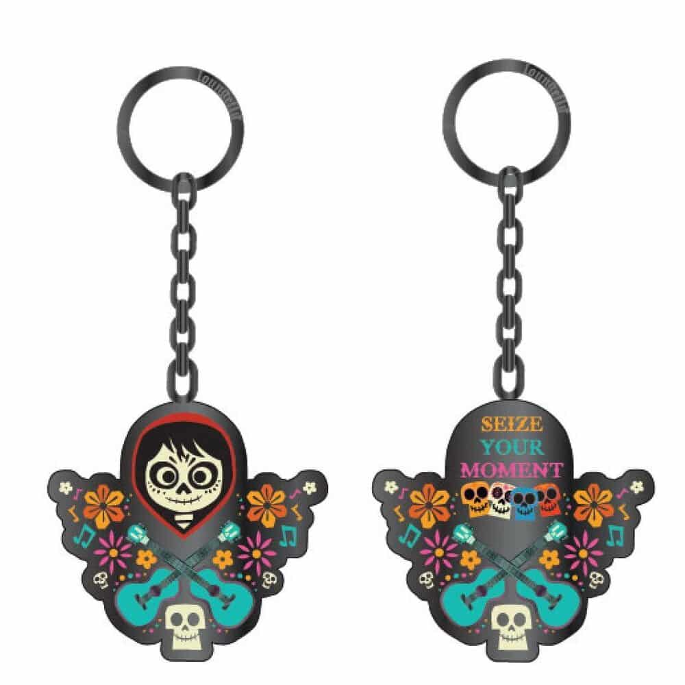 Loungefly Coco Seize Your Moment Double-Sided Enamel Key Chain