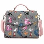 Loungefly Disney Cats All Over Print Crossbody Purse