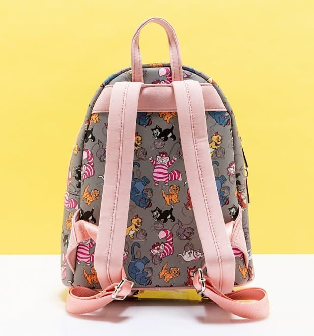Loungefly Disney Cats All Over Print Mini-Backpack