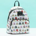 Loungefly Disney Dog Houses All Over Print Mini-Backpack