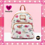 Loungefly Disney Princess Floral Mini-Backpack