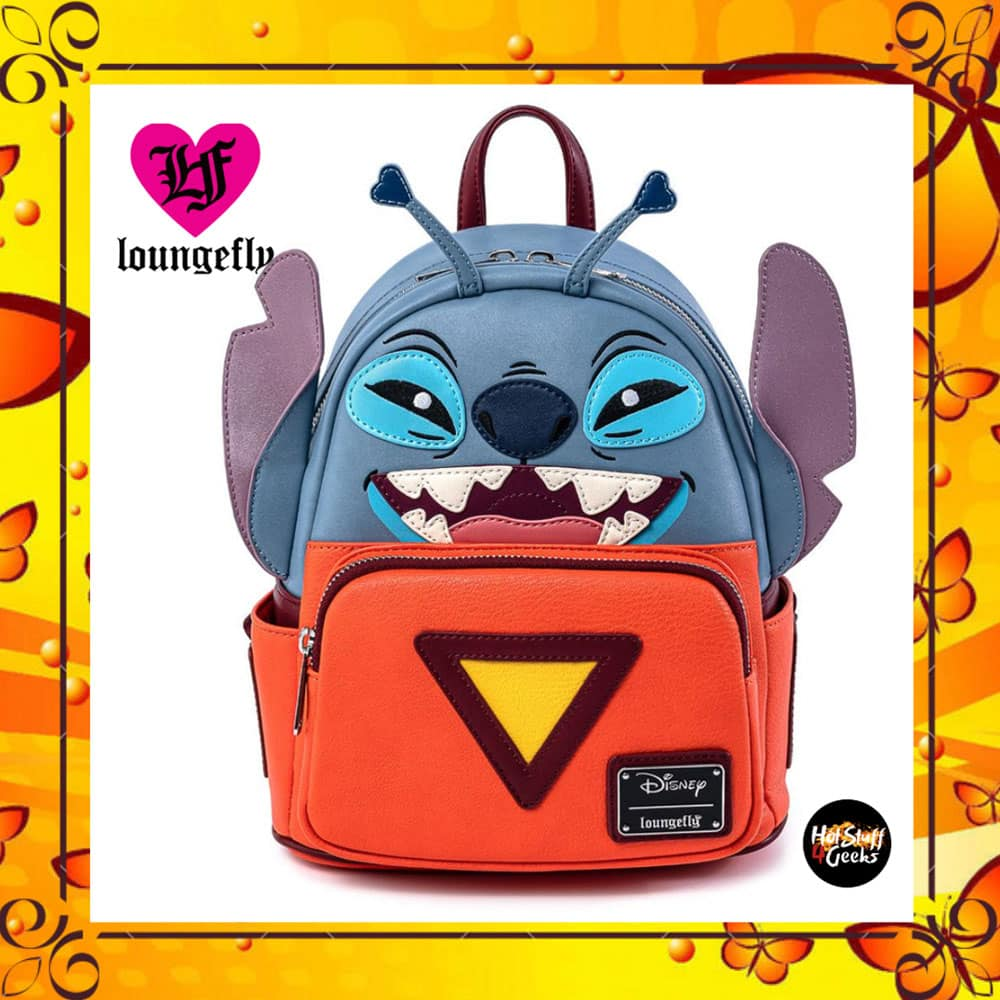 Loungefly Disney's Lilo And Stitch Experiment 626 Cosplay Mini Backpack by Loungefly