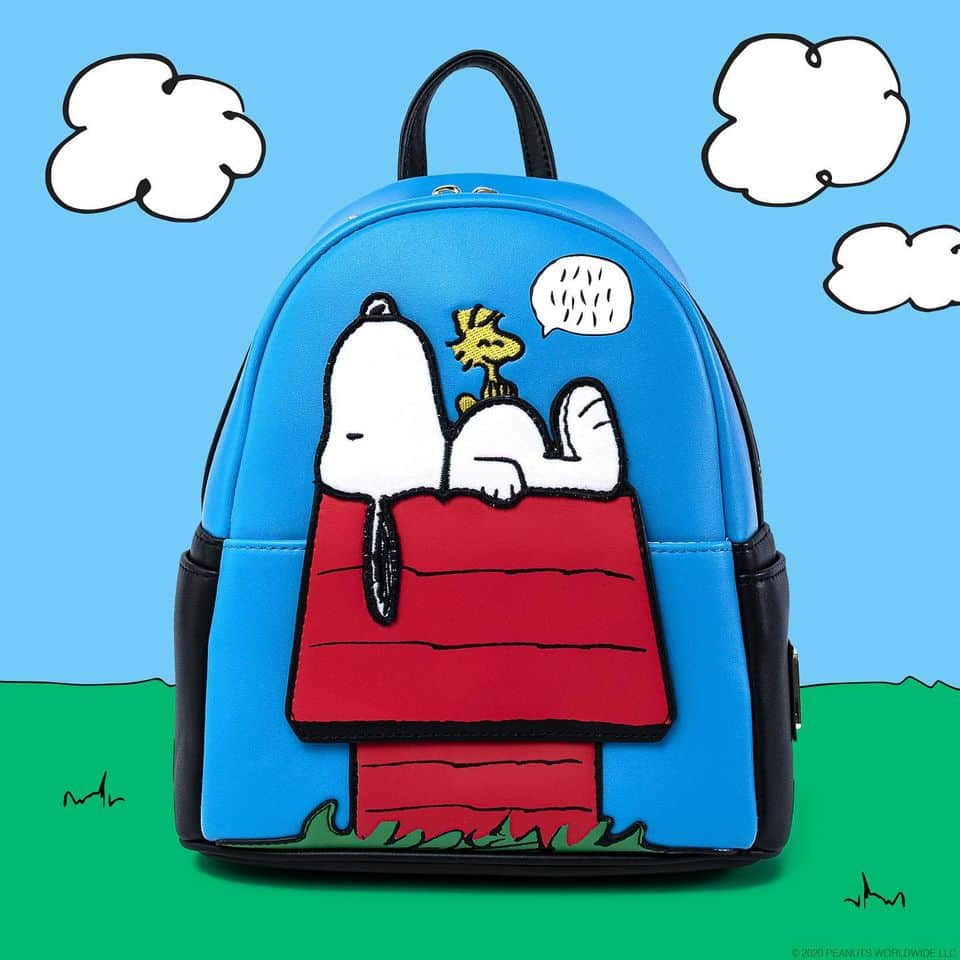 Loungefly Peanuts Snoopy Doghouse Mini Backpack