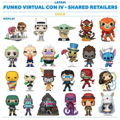 Chile - Funko NYCC 2020 Shared Retailers