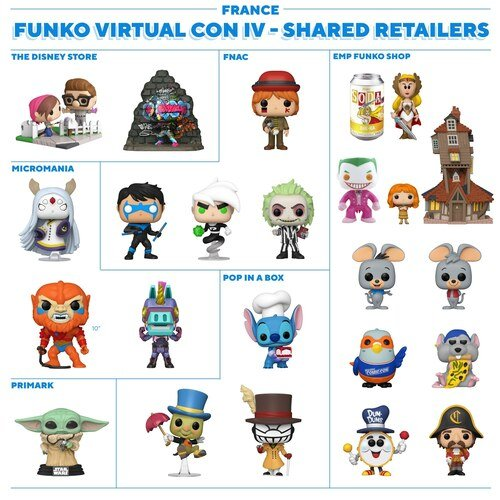 France - Funko NYCC 2020 Shared Retailers