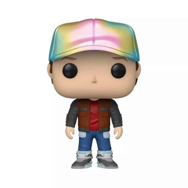 Funko POP! Movies: Back To The Future - Marty in Future Outfit Metallic - Target Exclusive