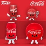 Funko Pop! Ad Icons: Coca-Cola - Coke Can and Coke Bottle Cap Funko Pop! Vinyl Figures