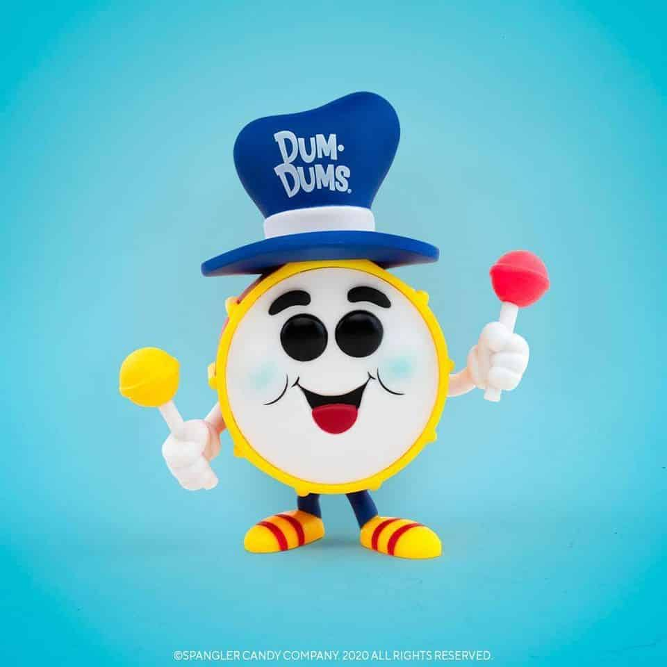 Funko Pop! Ad Icons: Dum-Dums - Dum-Dums Drum Man Funko Pop! Vinyl Figure - Funko Shop and NYCC 2020 Shared Exclusive Exclusive