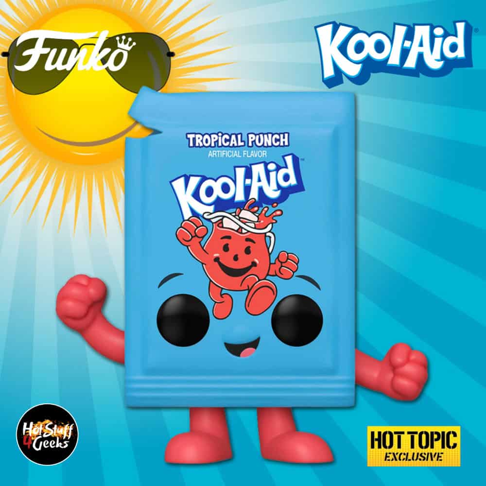 Funko Pop! Ad Icons: Kool-Aid - Original Kool-Aid Packet (Tropical Punch) Funko Pop! Vinyl Figure - Hot Topic Exclusive
