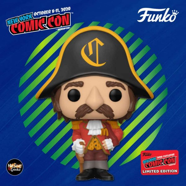 Funko Pop! Ad Icons: McDonald's - Captain Crook Funko Pop! Vinyl Figure - Funko Shop and NYCC 2020 Shared Exclusive