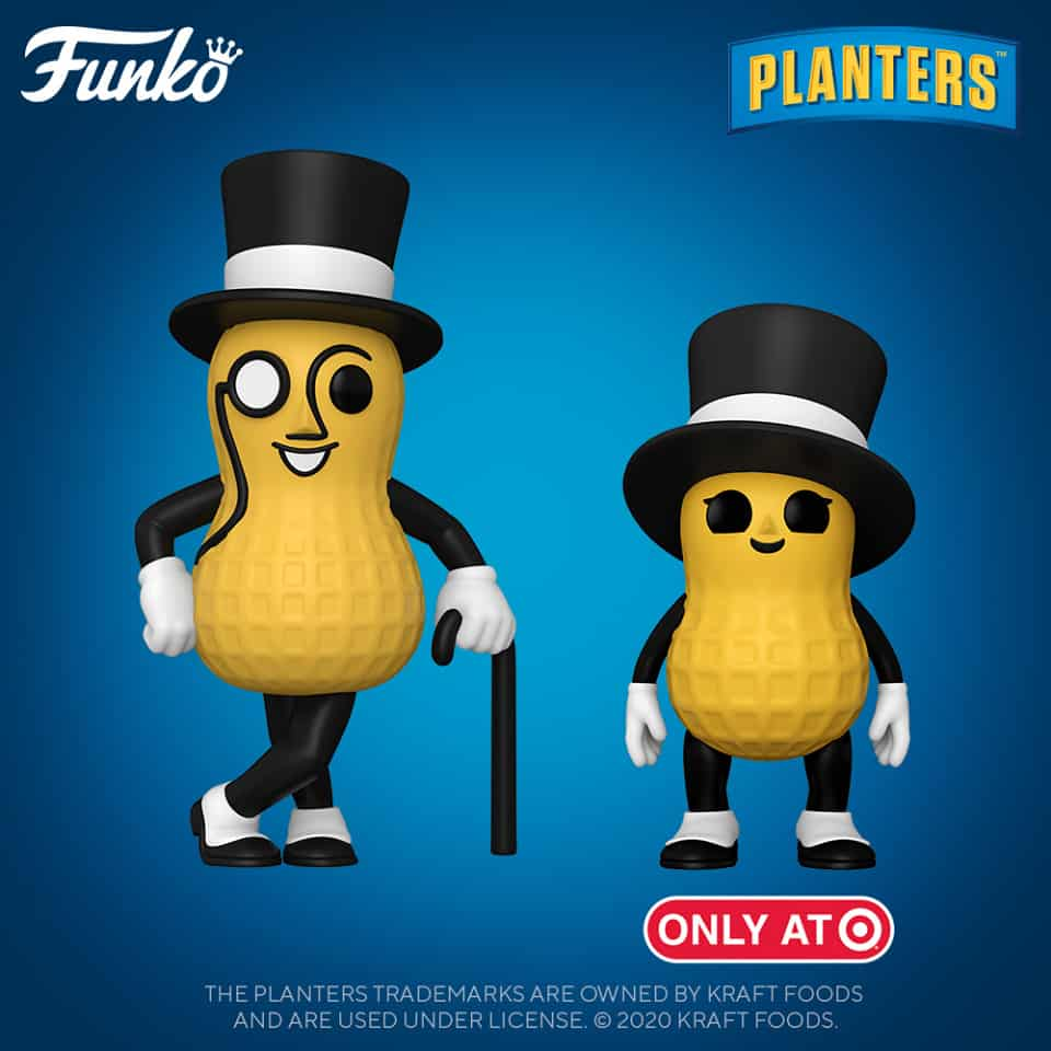 Funko Pop! Ad Icons - Planters - Mr. Peanut and Baby Peanut (Target Exclusive) Funko Pop! Vinyl Figures