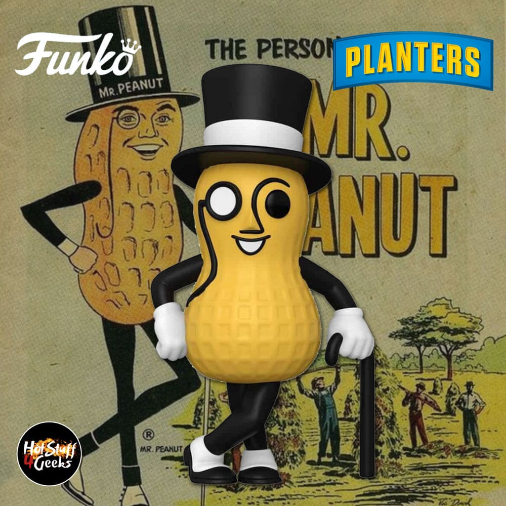 Funko Pop! Ad Icons: Planters - Mr. Peanut Funko Pop! Vinyl Figure