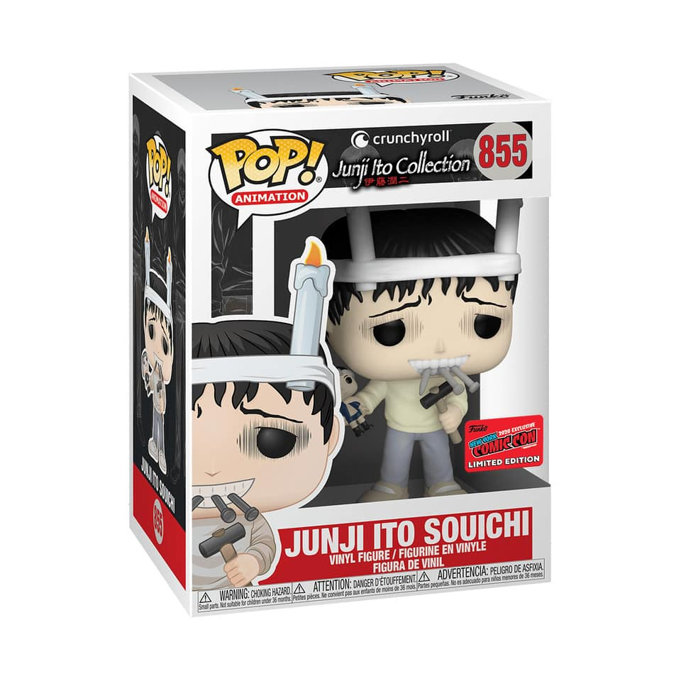 Funko Pop! Animation: Crunchyroll Junji Ito Collection – Junji Ito  - Hot Topic and NYCC 2020 Shared Exclusive