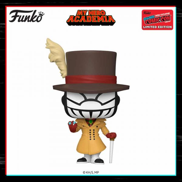 Funko Pop! Animation: My Hero Academia – Mr. Compress Funko Pop! Vinyl Figure - Hot Topic and NYCC 2020 Shared Exclusive