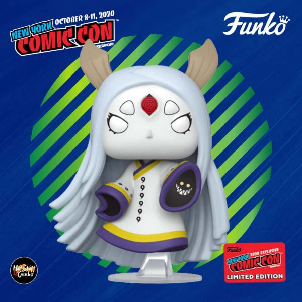 Funko Pop! Animation: Naruto - Kaguya Otsutsuki Funko Pop! Vinyl Figure - GameStop and NYCC 2020 Shared Exclusive