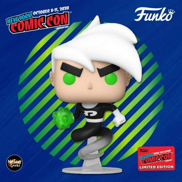 Funko Pop! Animation: Nickelodeon Danny Phantom - Danny Phantom Funko Pop! Vinyl Figure - Target and NYCC 2020 Shared Exclusive