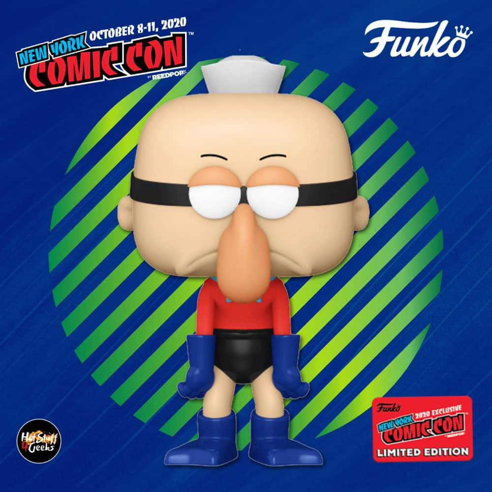 Funko Pop! Animation: Nickelodeon SpongeBob SquarePants - Barnacleboy Funko Pop! Vinyl Figure - Entertainment Earth and NYCC 2020 Shared Exclusive