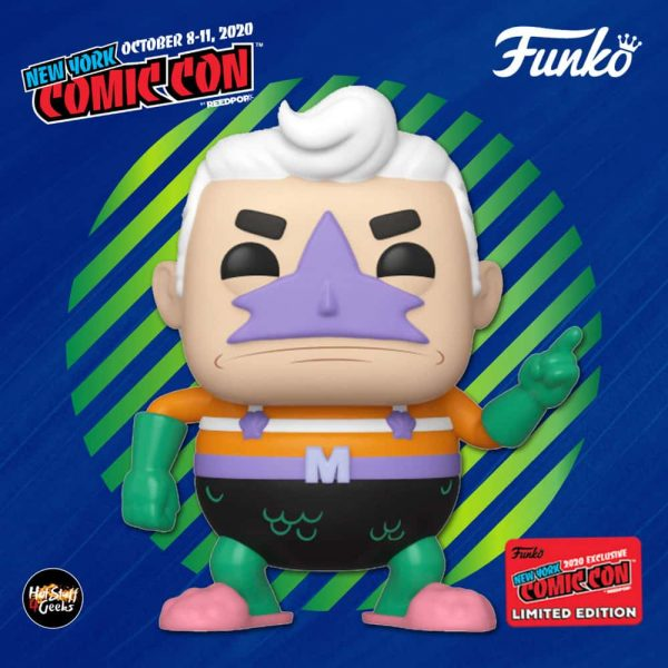 Funko Pop! Animation: Nickelodeon SpongeBob SquarePants - Mermaidman Funko Pop! Vinyl Figure - Entertainment Earth and NYCC 2020 Shared Exclusive