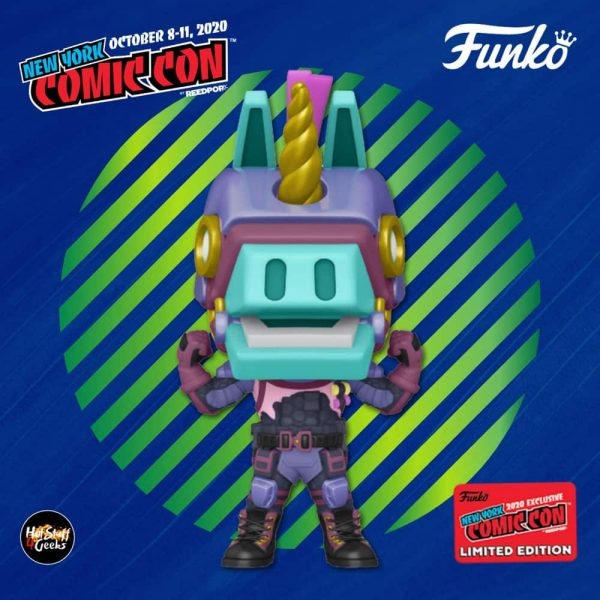 Funko Pop! Games: Fortnite – Bash Funko Pop! Vinyl Figure - Walmart and NYCC 2020 Shared Exclusive