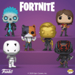Funko Pop! Games: Fortnite - TNTina, Eternal Voyager, Scratch, The Scientist, Midas Metallic, and Meowscles Funko Pop! Vinyl Figures - Wave 2020