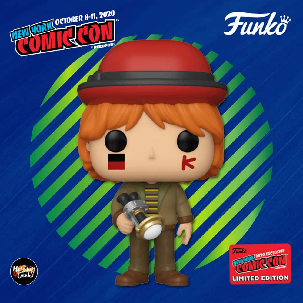 Funko Pop! Harry Potter - Ron Weasley at World Cup - Funko Pop! Vinyl Figure - BAM and NYCC 2020 Shared Exclusive Exclusive