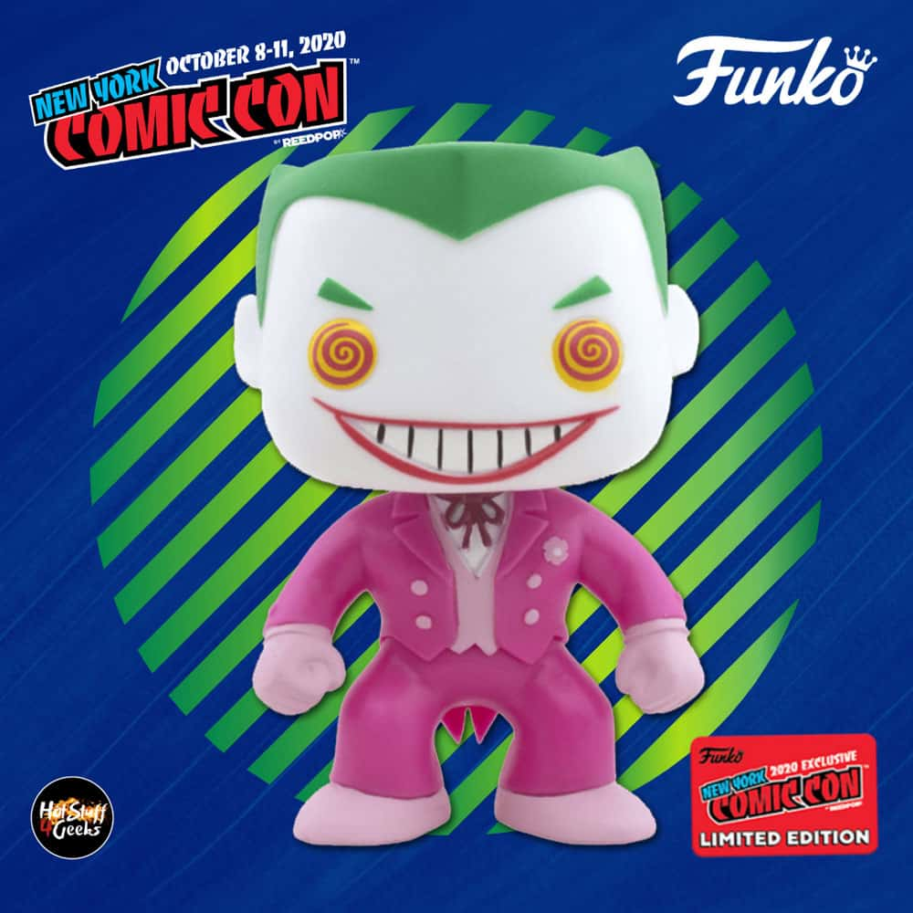 Funko Pop! Heroes: DC Breast Cancer Awareness - The Joker Funko Pop! Vinyl Figure - Funko Shop and NYCC 2020 Shared Exclusive