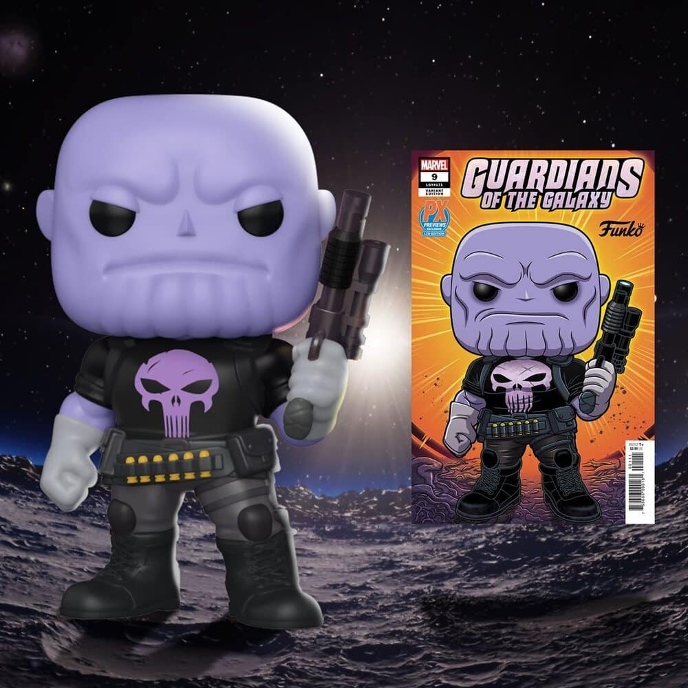 Funko Pop! Marvel Heroes: Thanos Earth-18138 6-Inch Funko Pop! Vinyl Figure - Previews Exclusive