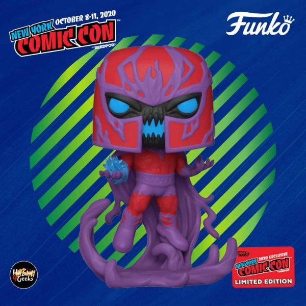 Funko Pop! Marvel Venom: Venomized Magneto Funko Pop! Vinyl Figure - Barnes & Noble and NYCC 2020 Shares Exclusive