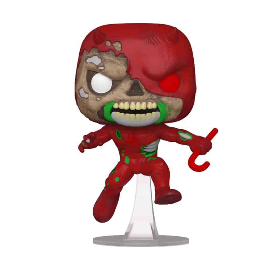 Funko Pop! Marvel Zombies: Zombie Daredevil Funko Pop! Vinyl Figure - BoxLunch and NYCC 2020 Shared Exclusiv