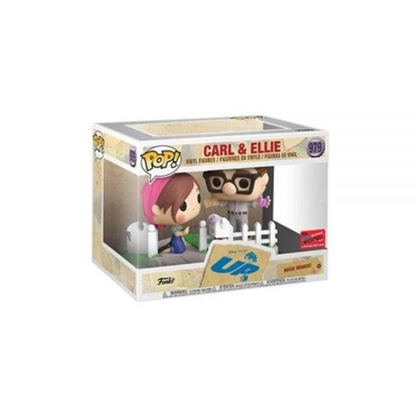 Funko Pop! Movie Moment: Disney and Pixar - UP: Carl and Ellie 2-Pack Funko Pop! Vinyl Figure - BoxLunch and NYCC 2020 Shared Exclusive Exclusive