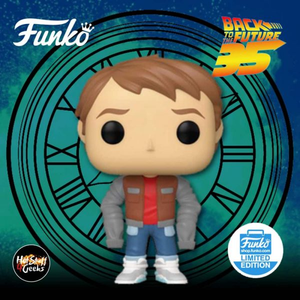 Funko Pop! Movies: Back to the Future - Marty In Loose Jacket Funko Pop Vinyl Figure- Funko Shop Exclusive