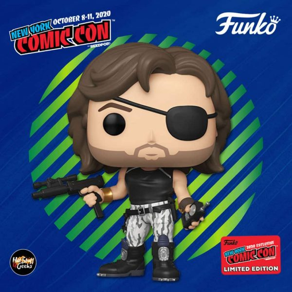 Funko Pop! Movies: Escape from New York – Snake Plissken Funko Pop! Vinyl Figure - Funko Shop and NYCC 2020 Shared Exclusive
