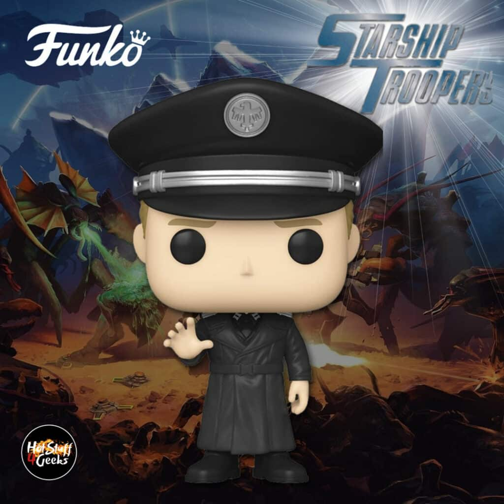 Funko Pop! Movies: Starship Troopers - Carl Jenkins Funko Pop! Vinyl Figure