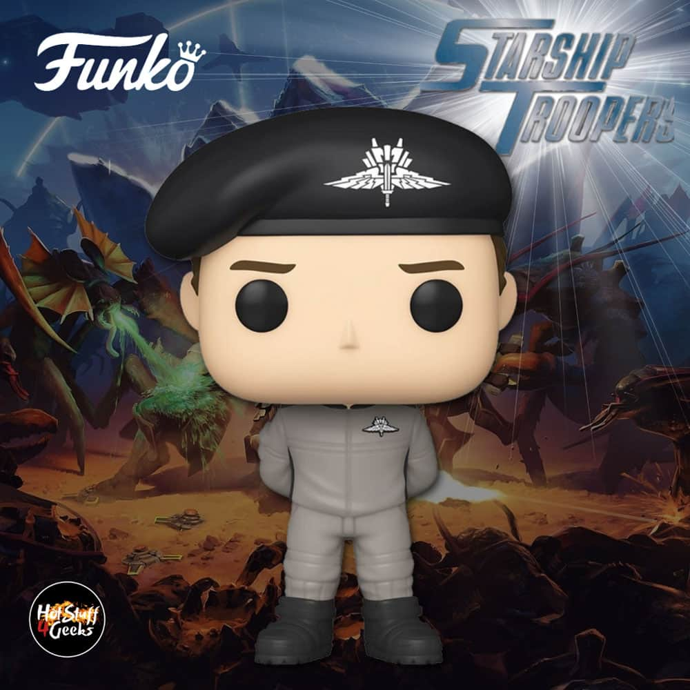 Funko Pop! Movies: Starship Troopers - Johnny Rico In Jumpsuit Funko Pop! Vinyl Figure