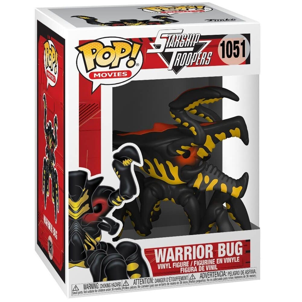 Funko Pop! Movies: Starship Troopers - Warrior Bug Funko Pop! Vinyl Figure
