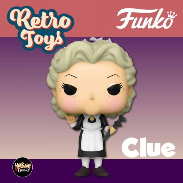Funko Pop! Retro Toys: Clue - Mrs. White with Wrench Funko Pop! Vinyl Figure