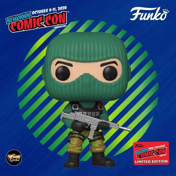 Funko Pop! Retro Toys: G.I. Joe – Beach Head Funko Pop! Vinyl Figure Funko Pop! Vinyl Figure - Target and NYCC 2020 Shared Exclusive