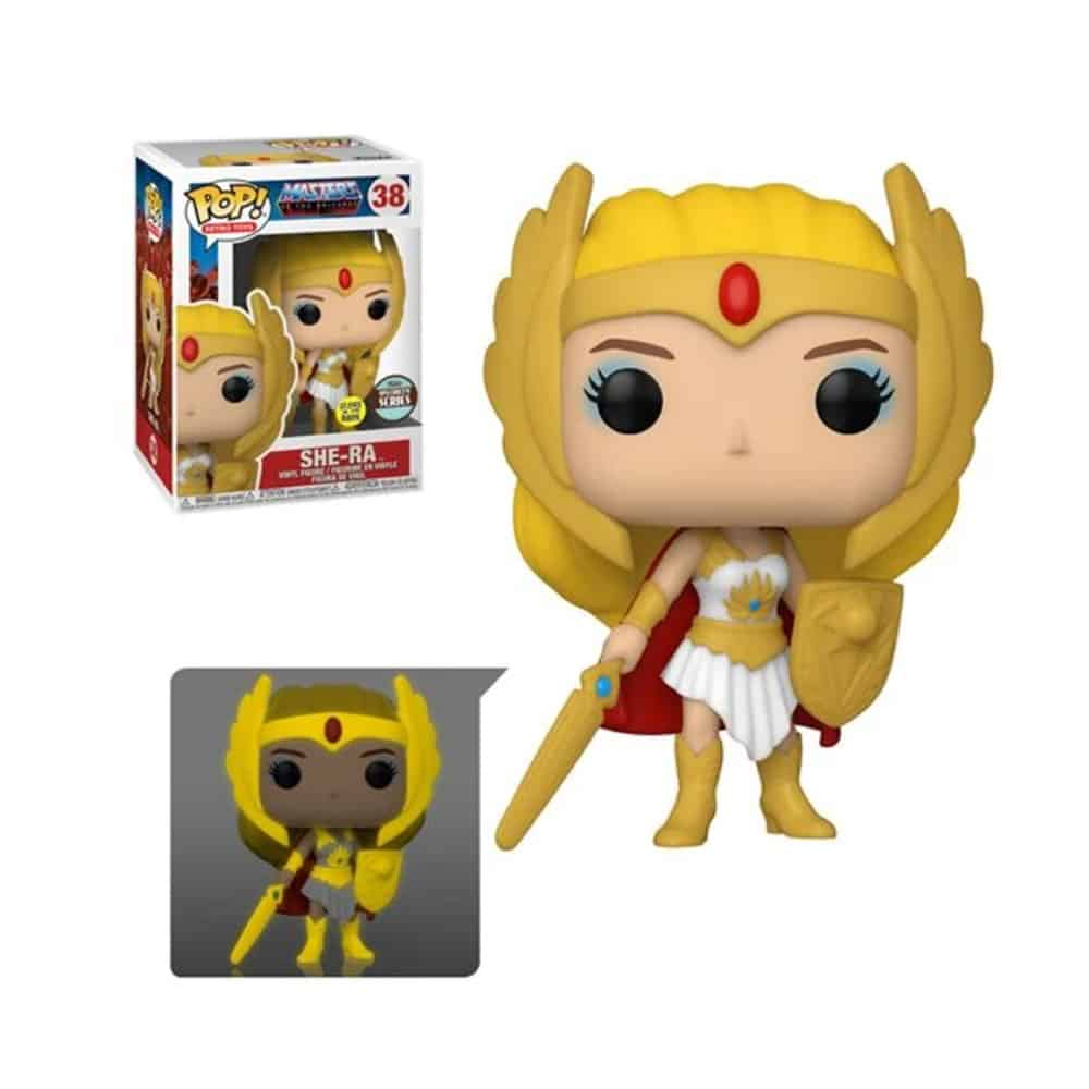 Funko Pop! Retro Toys: Masters of the Universe - Classic She-Ra Glow In the Dark (GITD) Funko Pop! Vinyl Figure - Specialty Series Exclusive