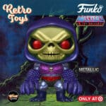 Funko Pop! Retro Toys: Masters of the Universe - Metallic Skeletor with Terror Claws Funko Pop! Vinyl Figure - Target Exclusive