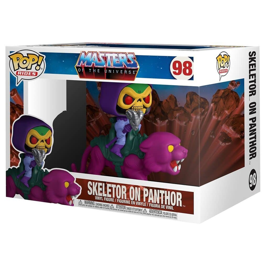 Funko Pop! Rides: Masters of the Universe - Skeletor on Panthor Funko Pop! Vinyl Figure