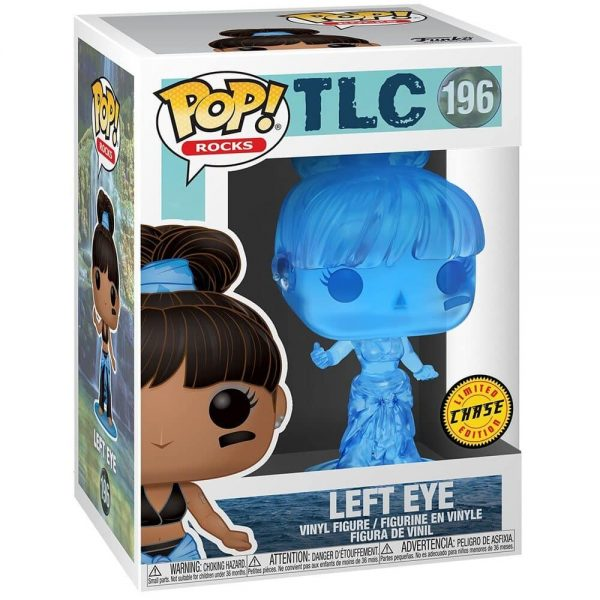 Funko Pop! Rocks: TLC - Left Eye With Chase Variant Funko Pop! Vinyl Figure