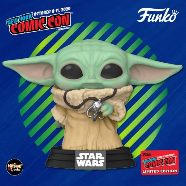 Funko Pop! Star Wars: The Mandalorian - The Child With Pendant Funko Pop! Vinyl Figure - Amazon and NYCC 2020 Shared Exclusive