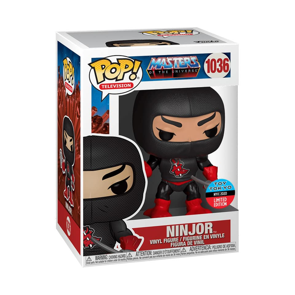 Funko Pop! Television: Masters of the Universe – Ninjor Funko Pop! Vinyl Figure - Toy Tokyo and NYCC 2020 Shared Exclusive