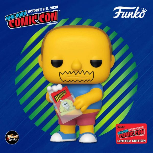 Funko Pop! Television: The Simpsons - Comic Book Guy Funko Pop! Vinyl Figure - Hot Topic and NYCC 2020 Shared Exclusive