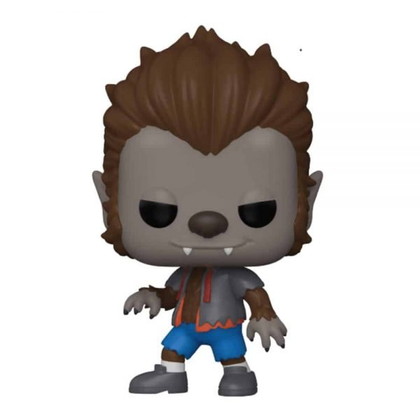 Funko Pop! Television: The Simpsons: Treehouse of Horror - Werewolf Bart Funko Pop! Vinyl Figure - GameStop and NYCC 2020 Shared Exclusive
