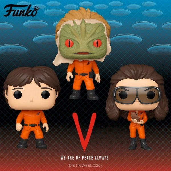 Funko Pop! Television V - Mike Donovan, Diana Funko and Alien Exposed Pop! Vinyl Figures - Wave 2020