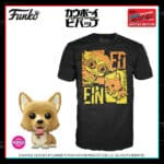 Funko Pop! and Tee: Cowboy Bebop – Flocked Ein Funko Pop! Vinyl Figure and T-Shirt Bundle - GameStop and NYCC 2020 Shared Exclusive