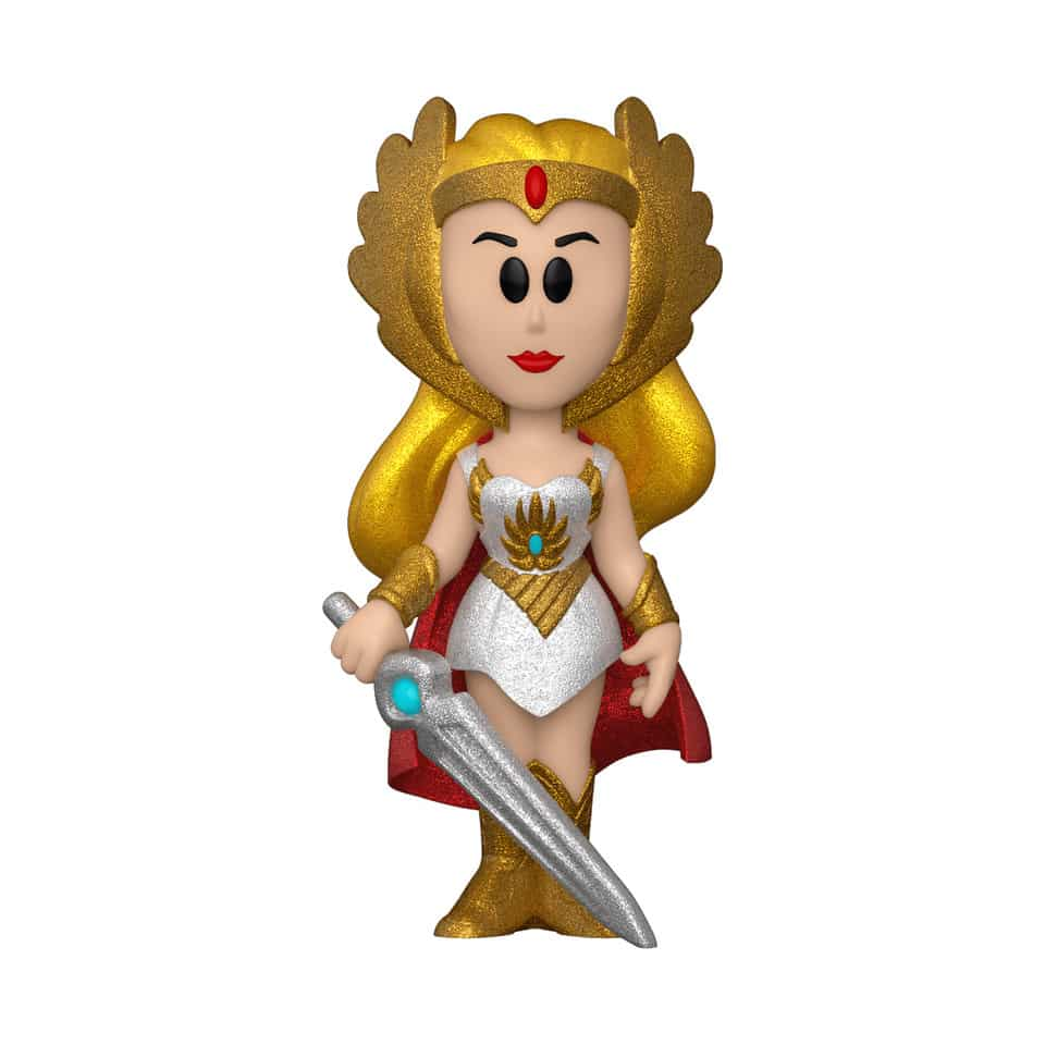 Funko Vinyl Soda: Masters of the Universe – She-Ra With Glitter Chase Variant Soda Figure - Funko Shop and NYCC 2020 Shared Exclusive