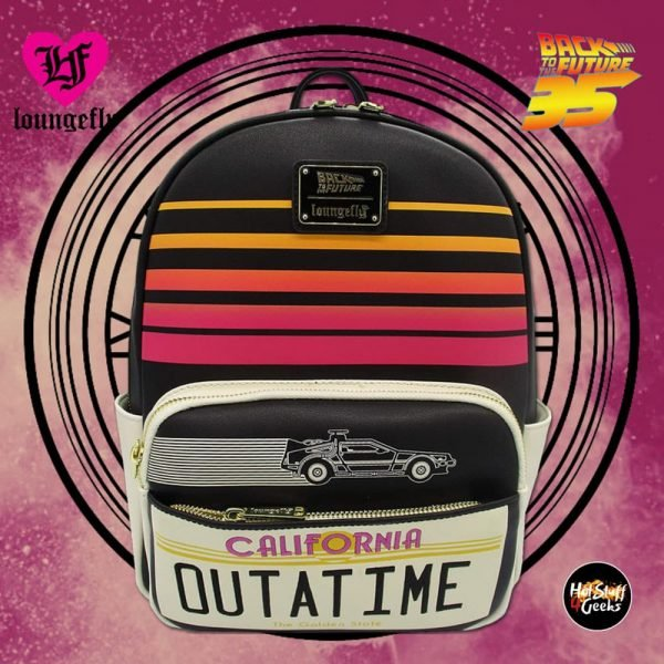 Loungefly Back to The Future: Outatime Mini Cosplay Backpack - Amazon Exclusive